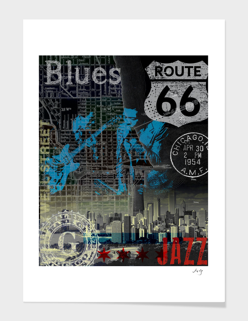 chicago blues jazz