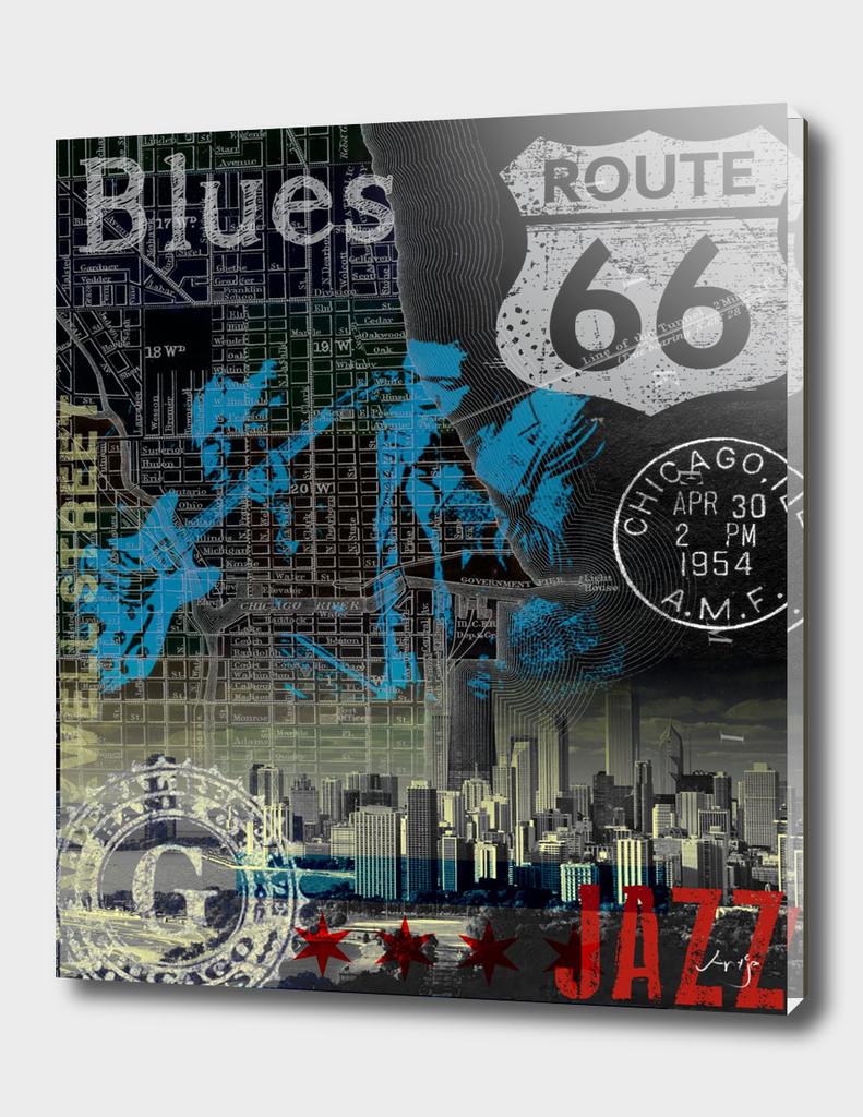 chicago blues jazz