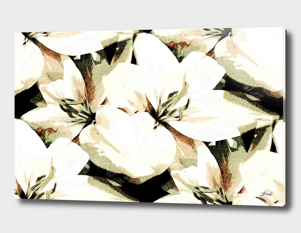 Vintage Lilies