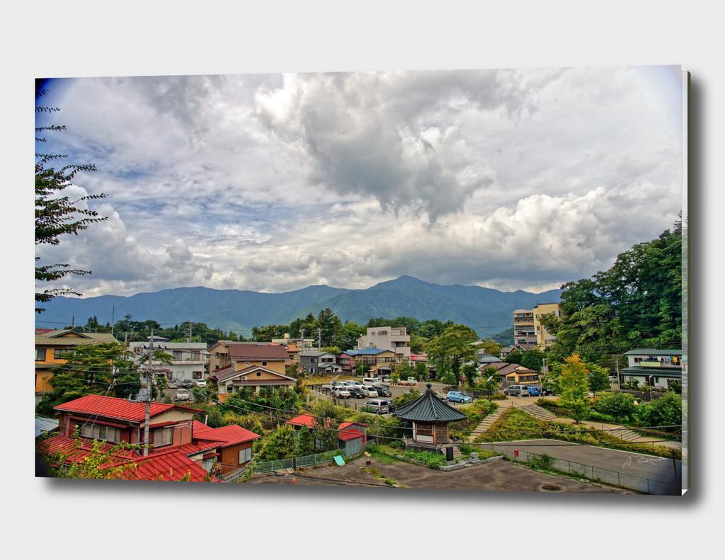 Kawaguchi-ko, near Mount Fuji, Japan