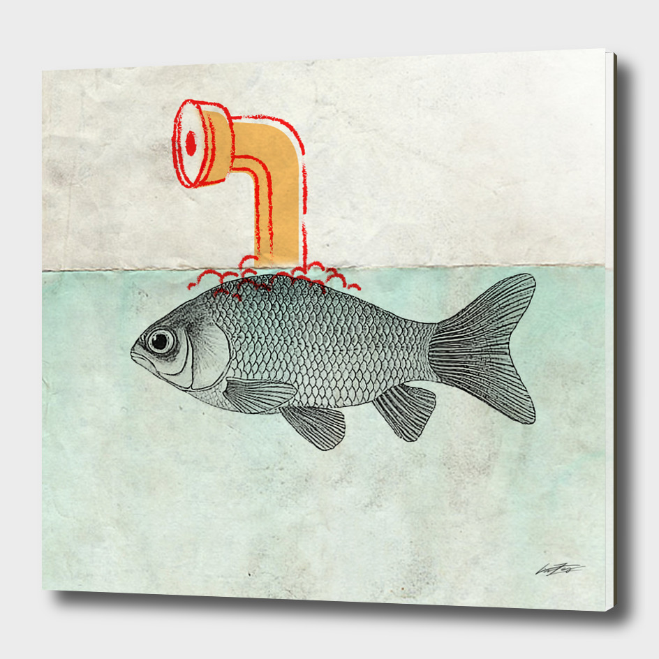 Periscope goldfish