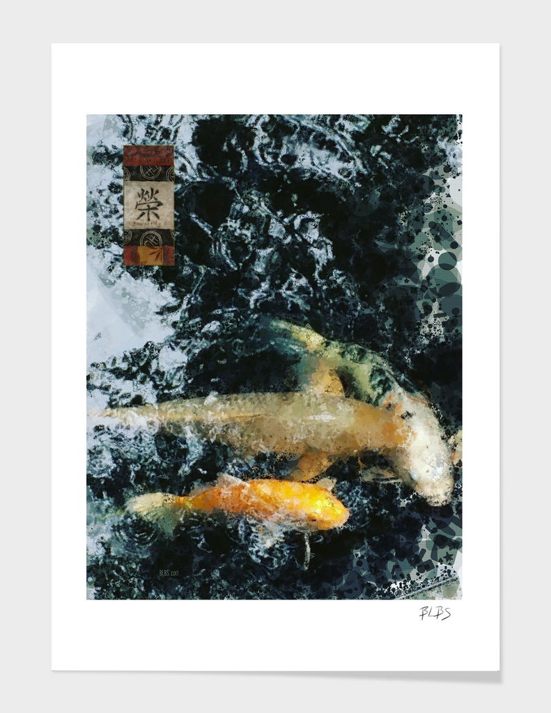 Koi Pond - Prosperity