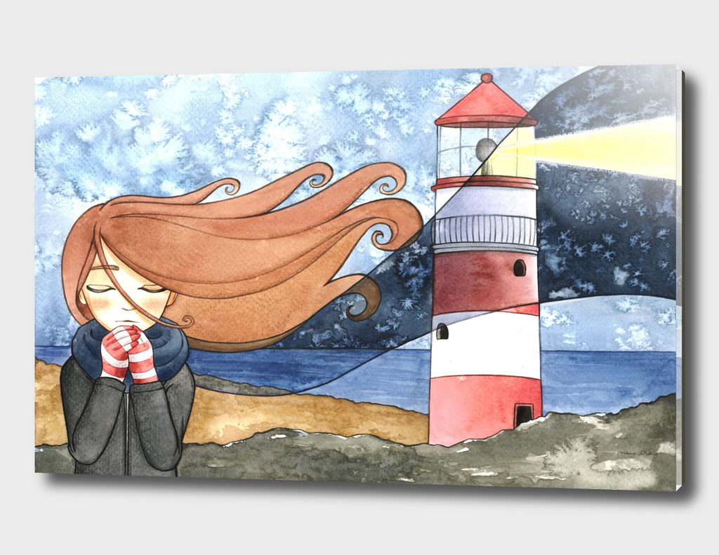 Girl with the Lighthouse