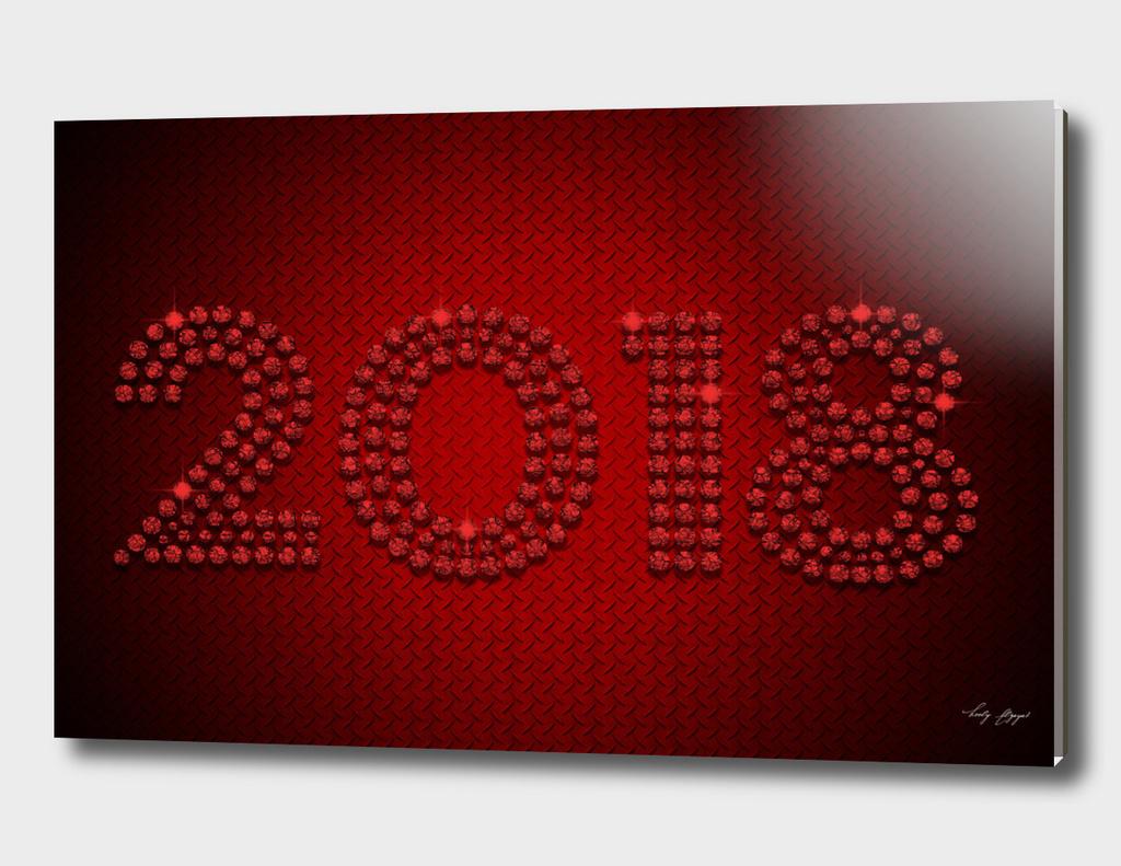 Sparkling Diamonds 2018-red