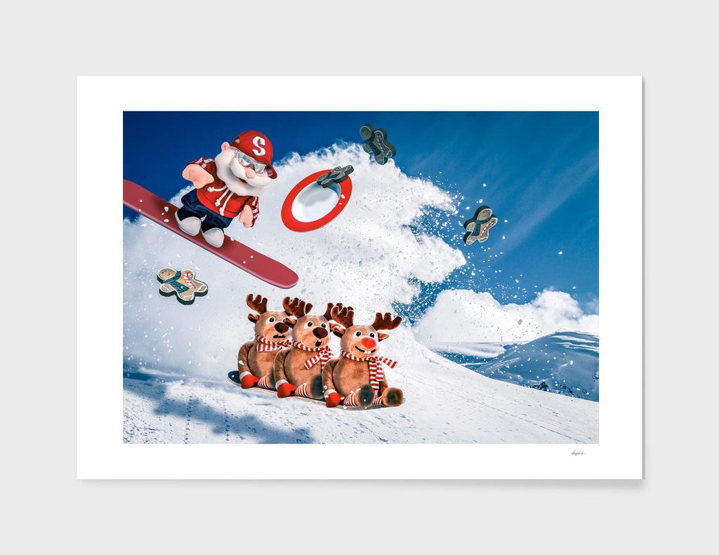 Shredding Santa