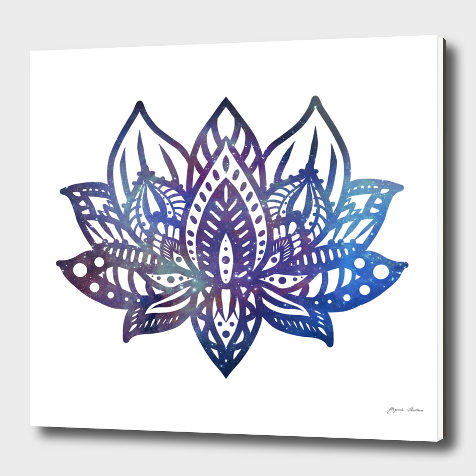 Galaxy Lotus Mandala
