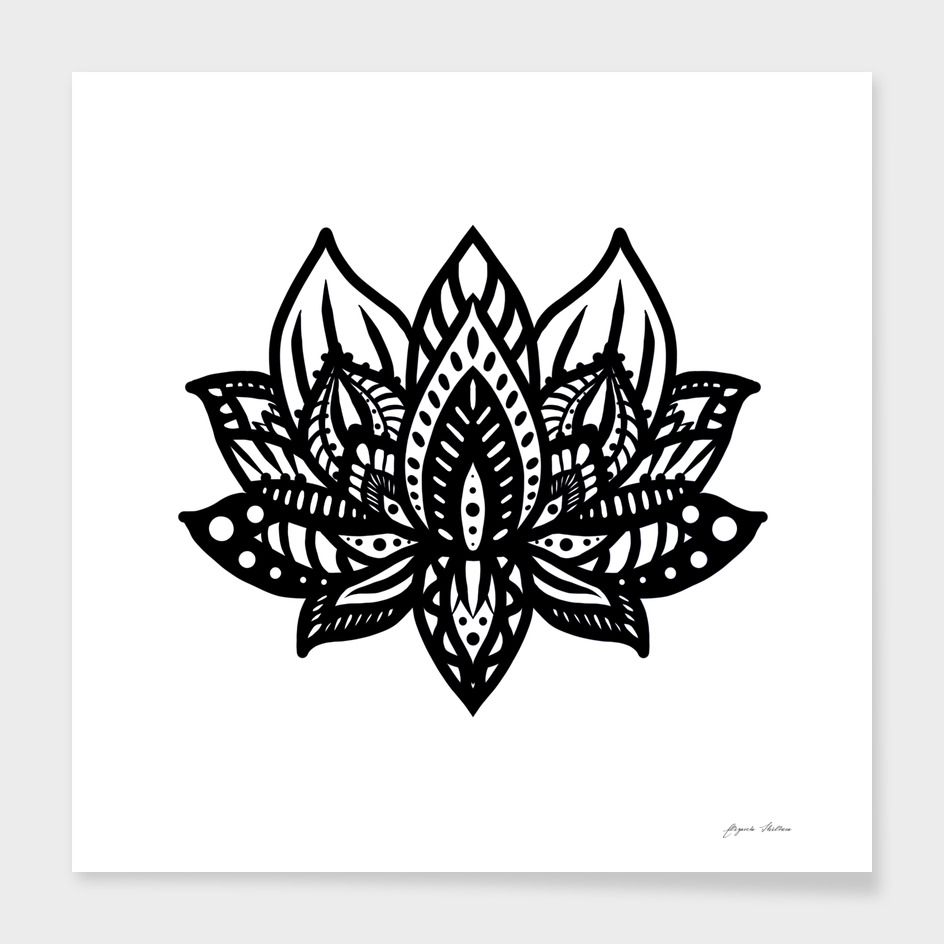 Black Lotus Mandala
