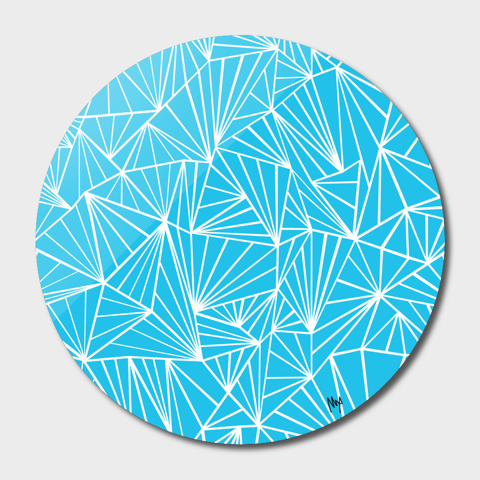 Ab Fan Electric Blue