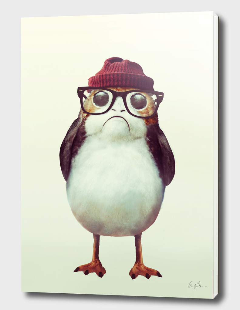 Hipster Porg