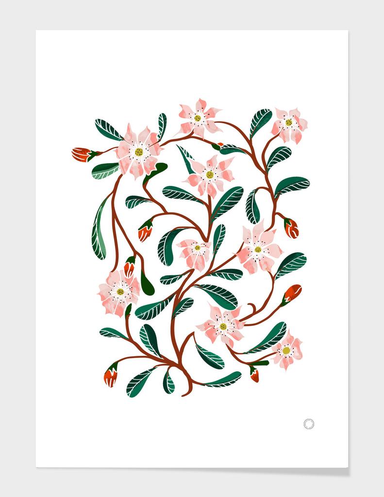 Floral Deco-art-print