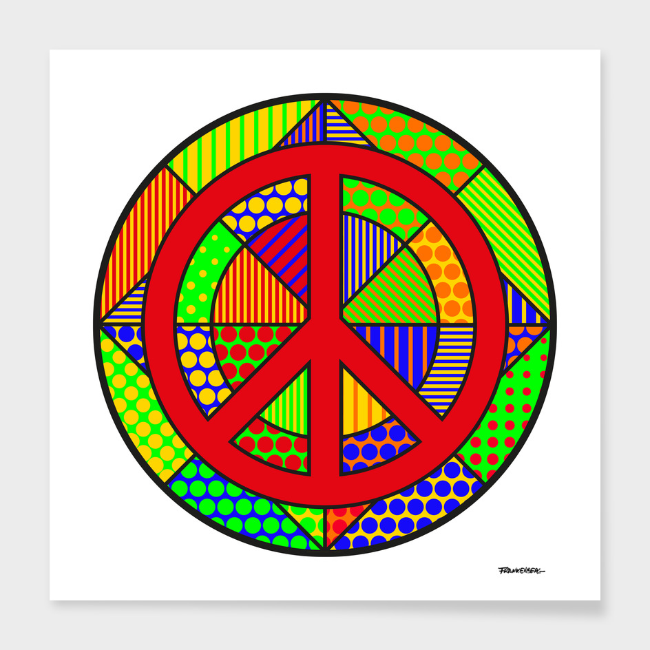 Peace #6 – PoP Art