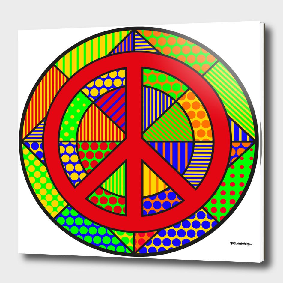 Peace #6 – PoP Art