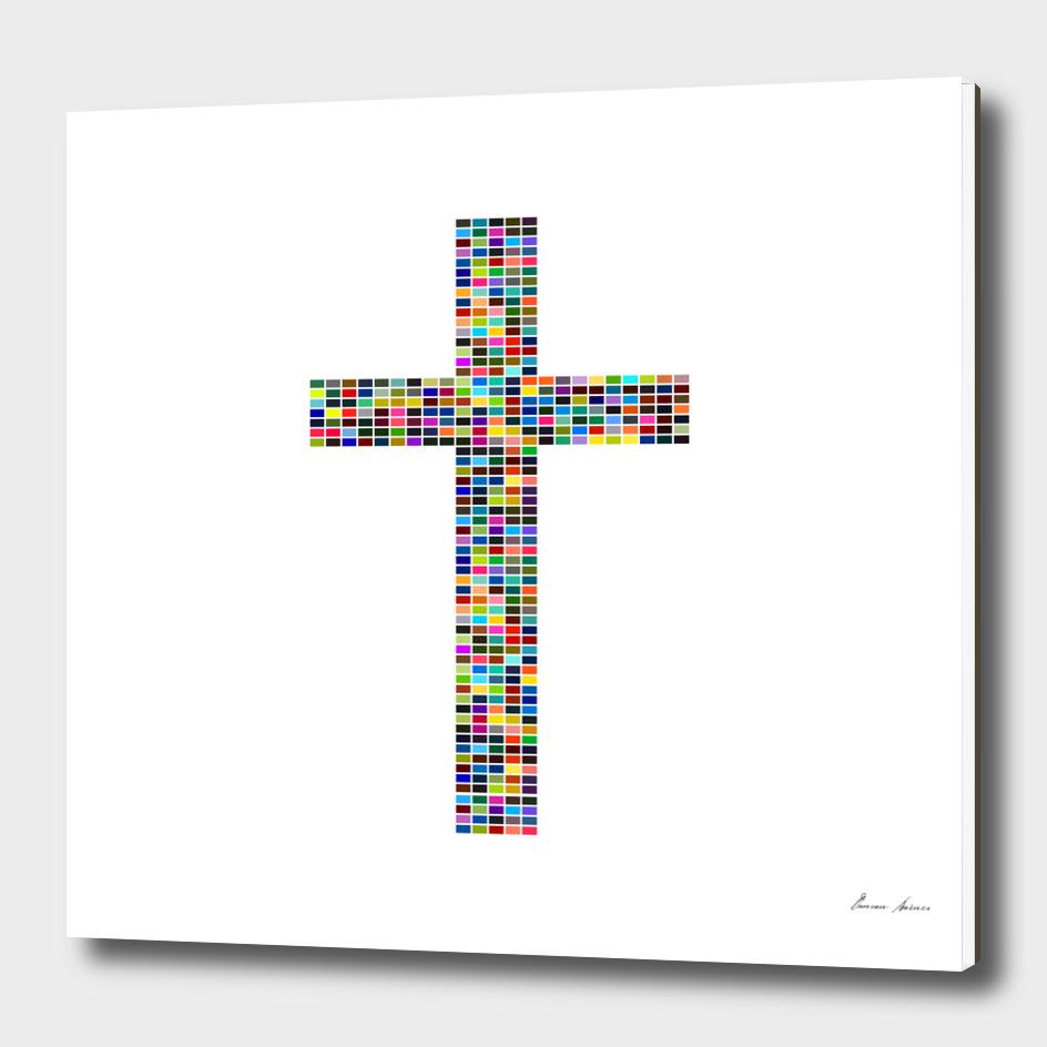 Multicoloured Cross