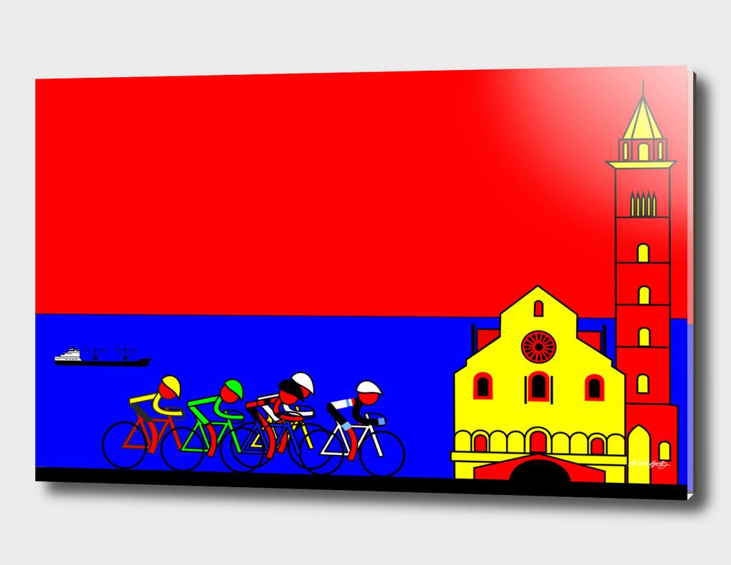The Giro in Trani Italy