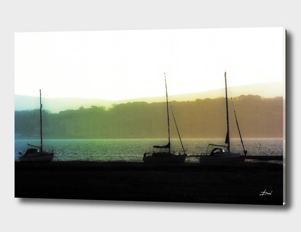 Boats At Keyhaven, Hampshire 4