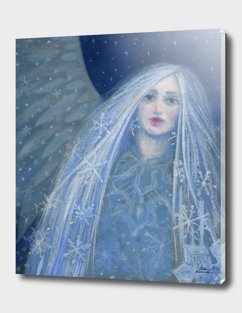 Metelitsa / Snow Maiden / Snegurochka, blue & gray version