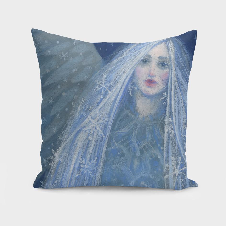 Metelitsa / Snow Maiden / Snegurochka, blue & gray version