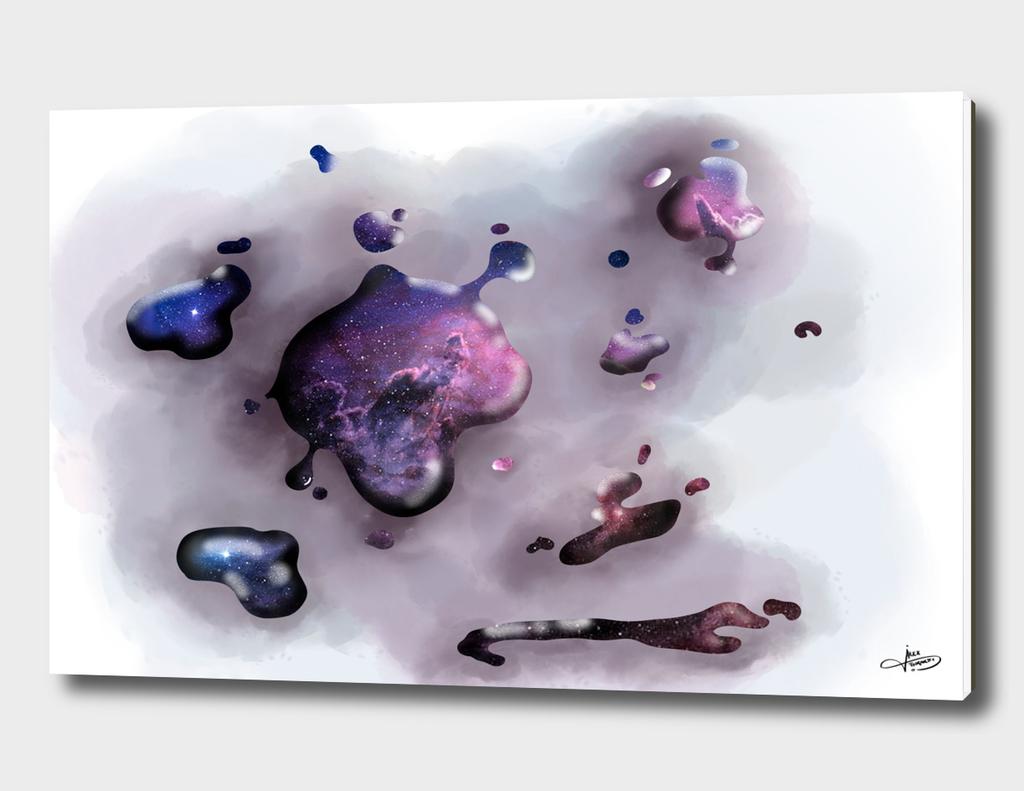 universo escuriendose
