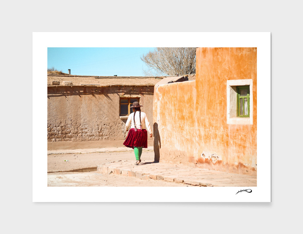 La mamita de Uyuni by #Bizzartino