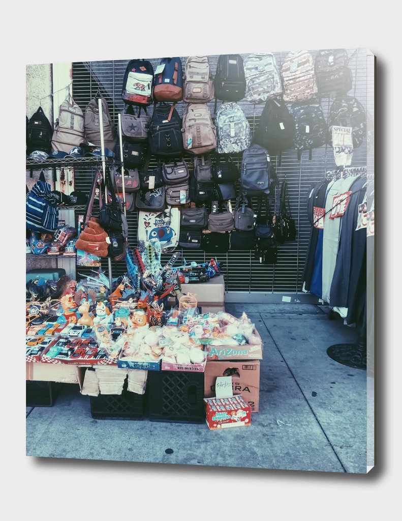 street vendor in Los Angeles, USA