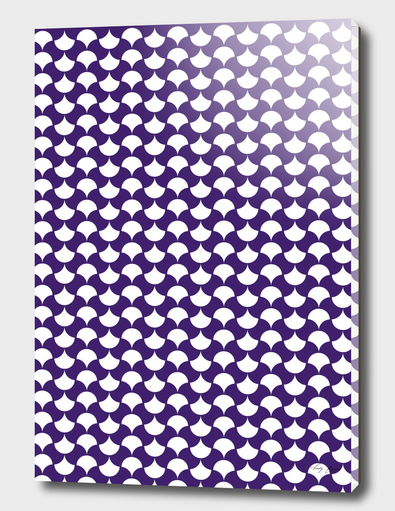 Purple Petals Pattern