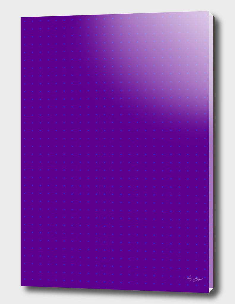 Purple Blue Dots Pattern
