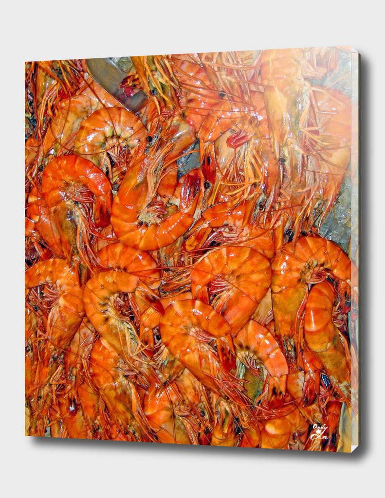 Seafood. Texture.