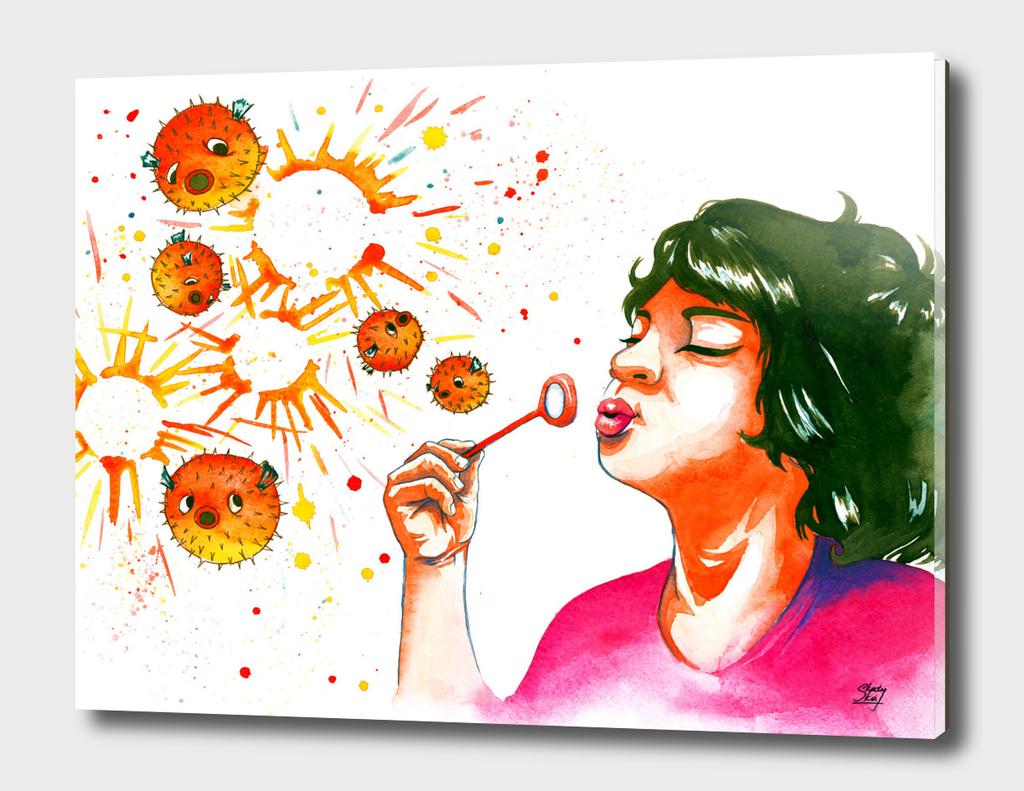 fugu bubbles