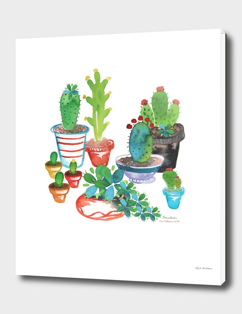 Succulent Print
