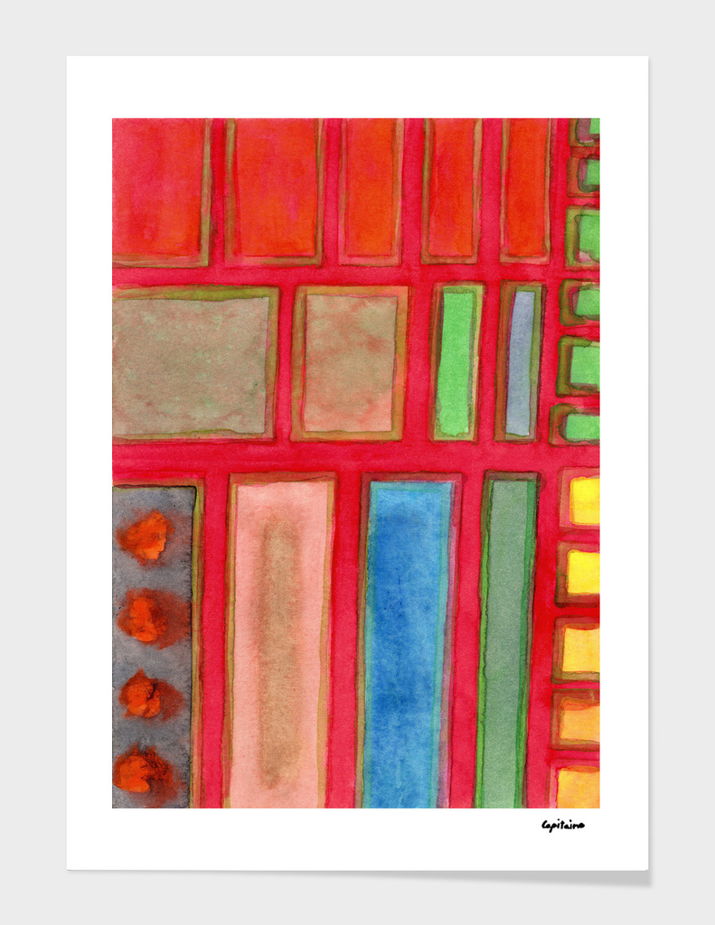. Some Chosen Rectangles ordered on Red
