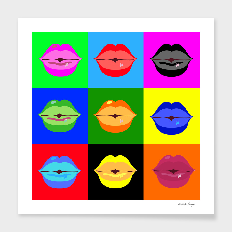 kiss pattern