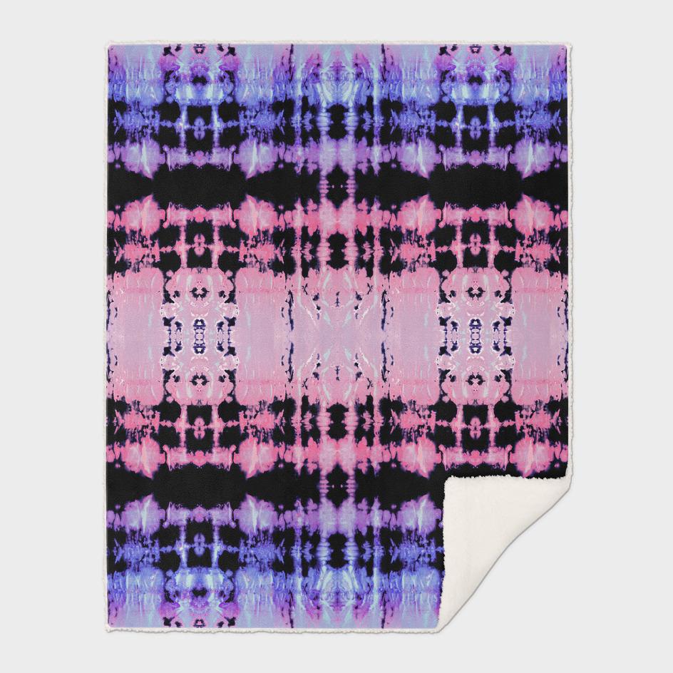 Ombre' Shibori Stripe