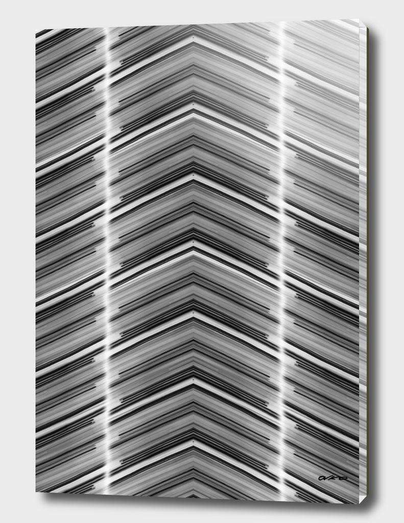 Line Me Up - Geometric Minimal Abstract