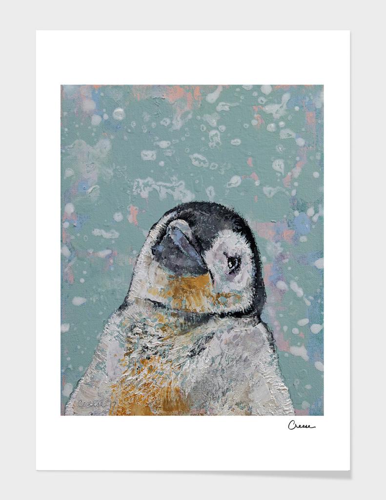 Baby Penguin Snowflakes