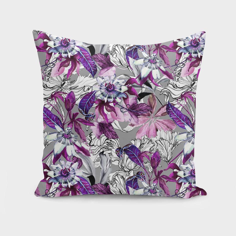 Violet botanical paradise