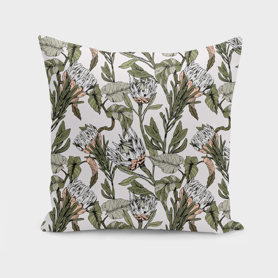 Pattern botanical boho