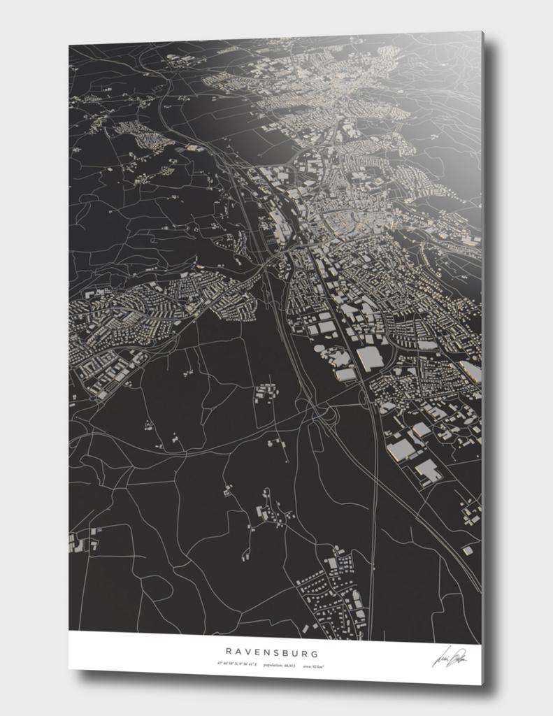 Ravensburg city map