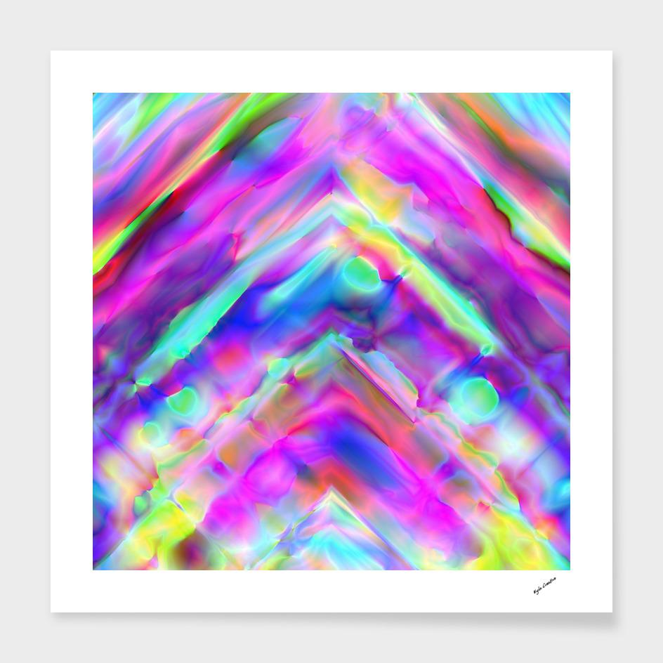 Rainbow blur