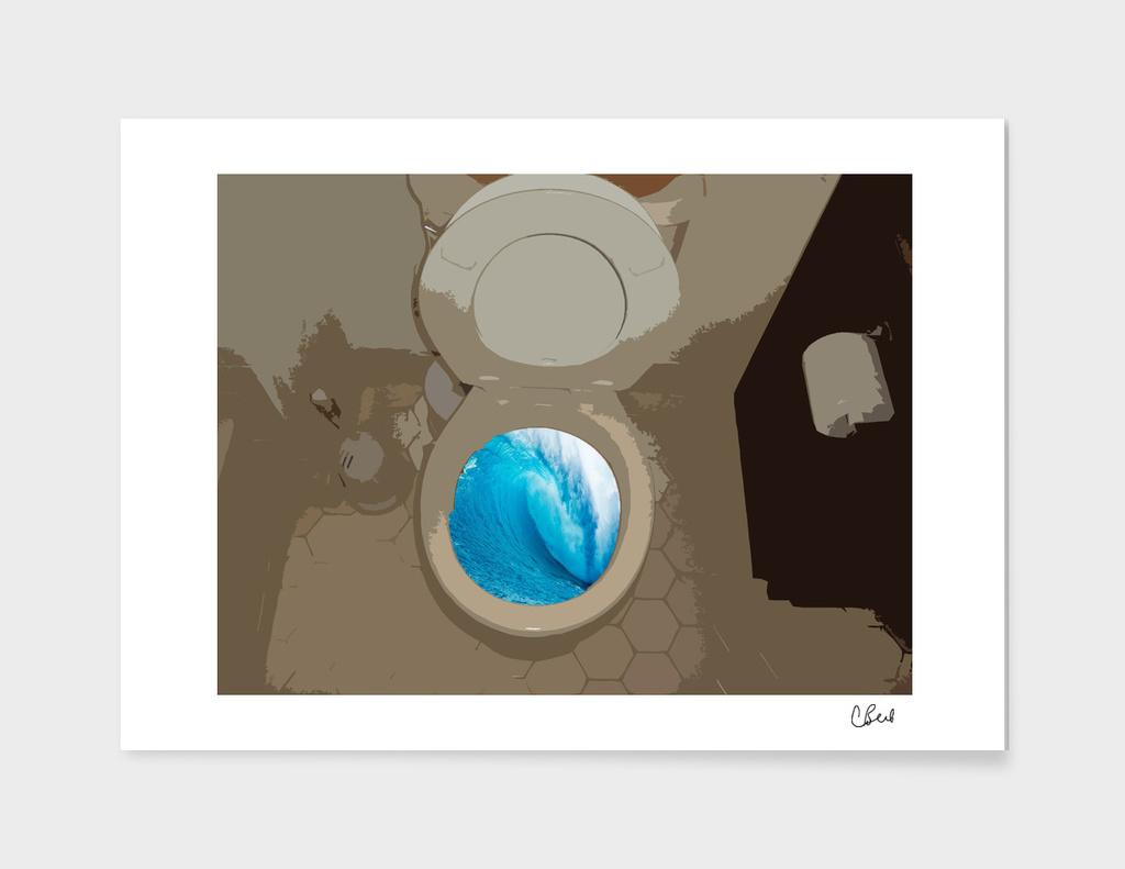 Toilet Ocean