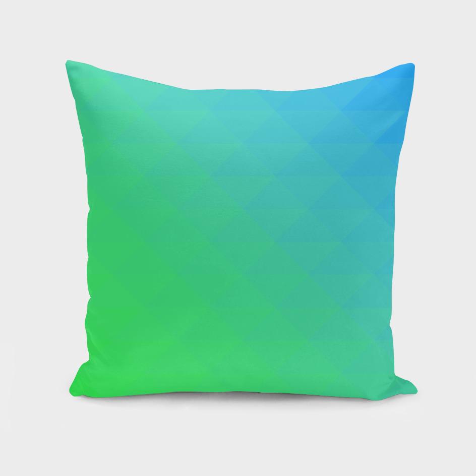blue green pattern