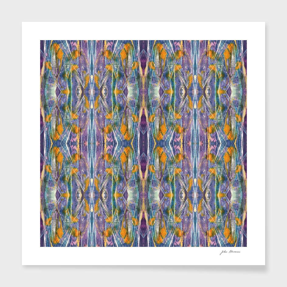 Abstracted Purple Pattern - BYGE9812
