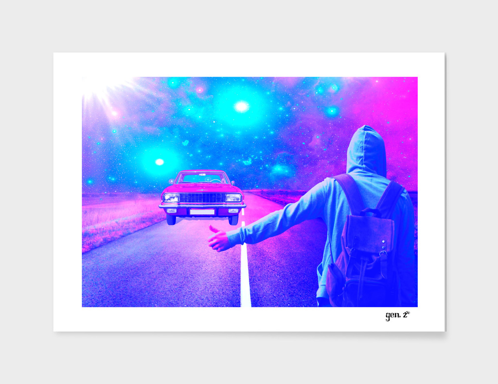 Ghost Car by GEN Z