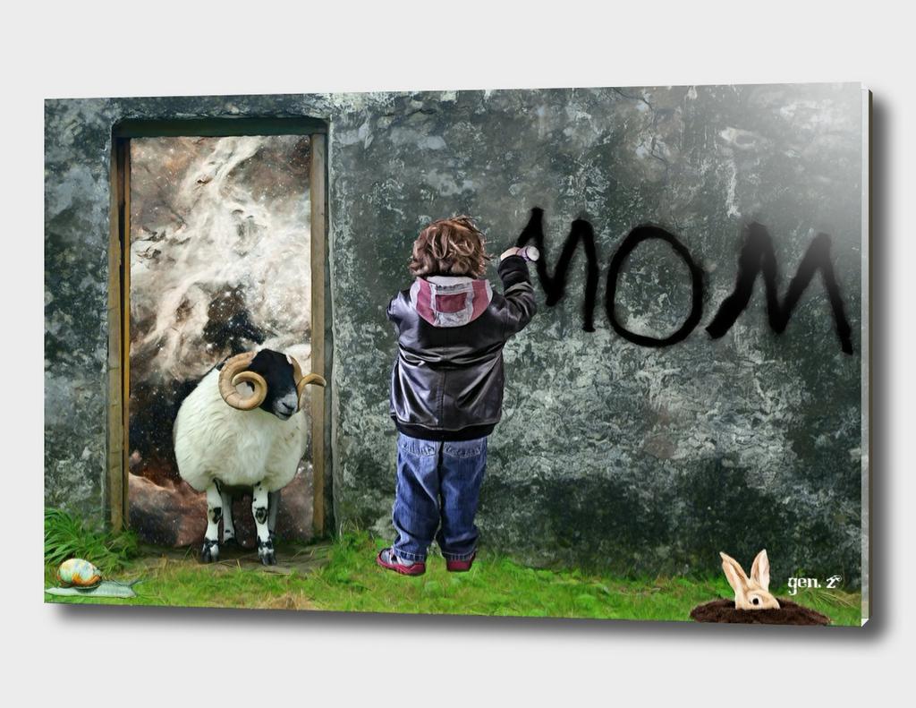 Mom by GEN Z