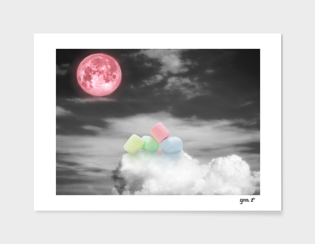 Marshmallow on the sky by GEN Z