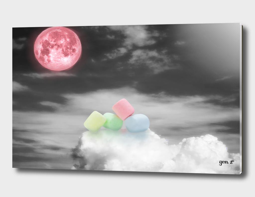 Marshmallow on the sky by GEN Z