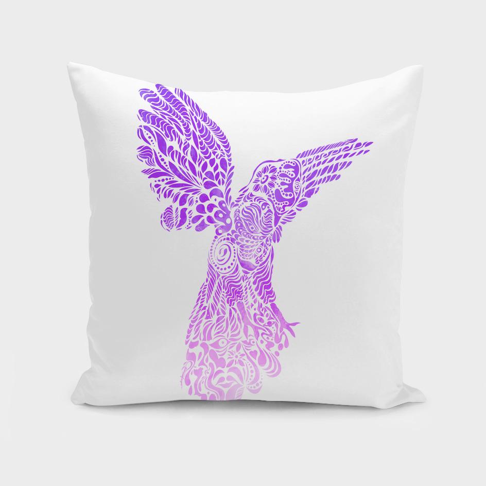 Gallito violet by #Bizzartino