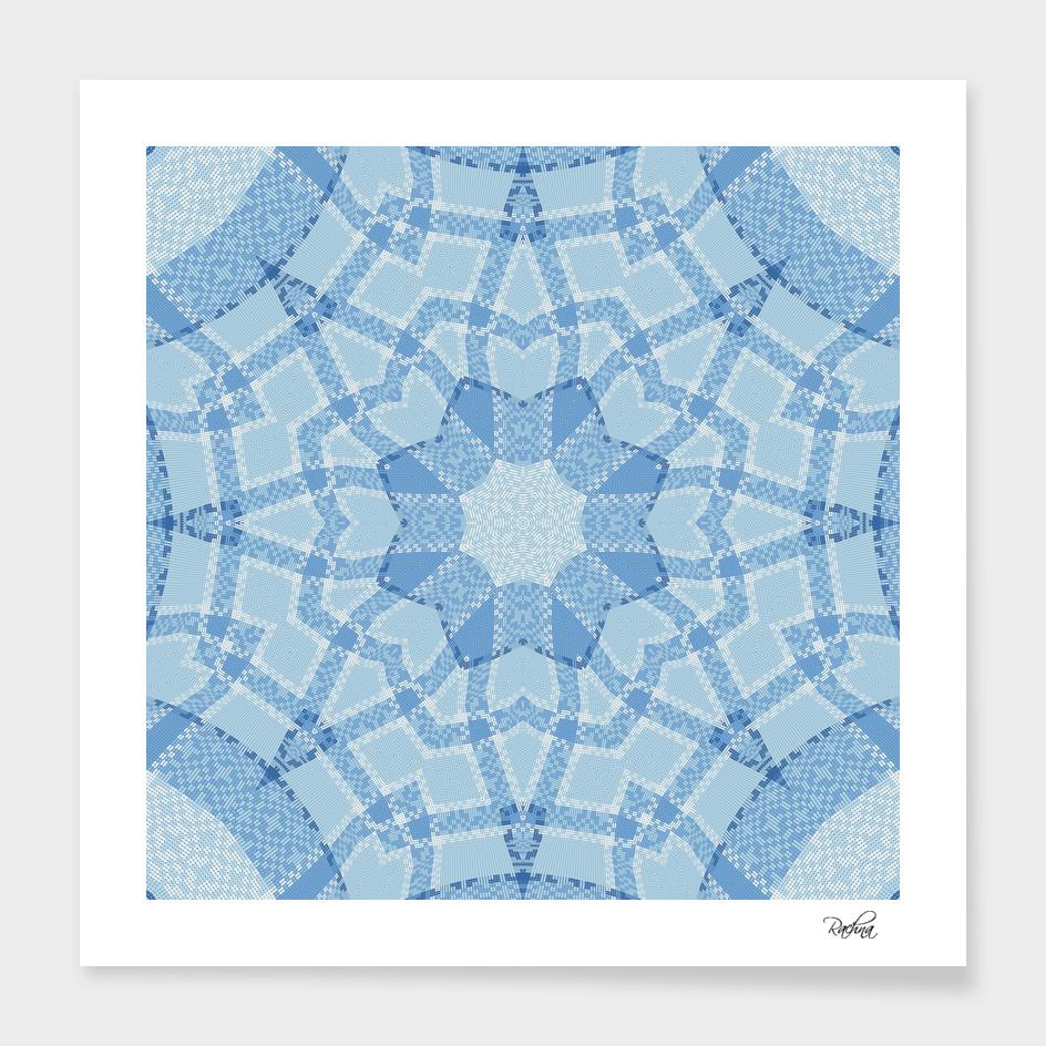 Blue Tiles 4