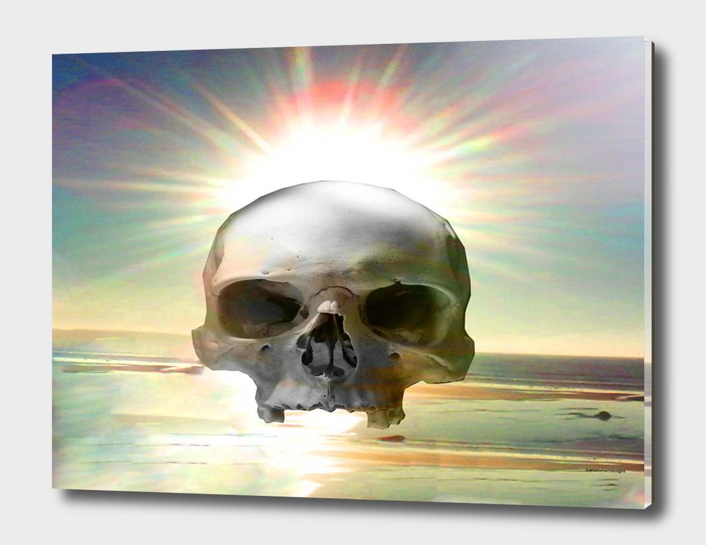 Skull Sunset