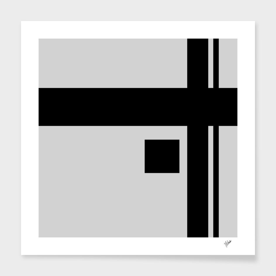 Cross Point Black