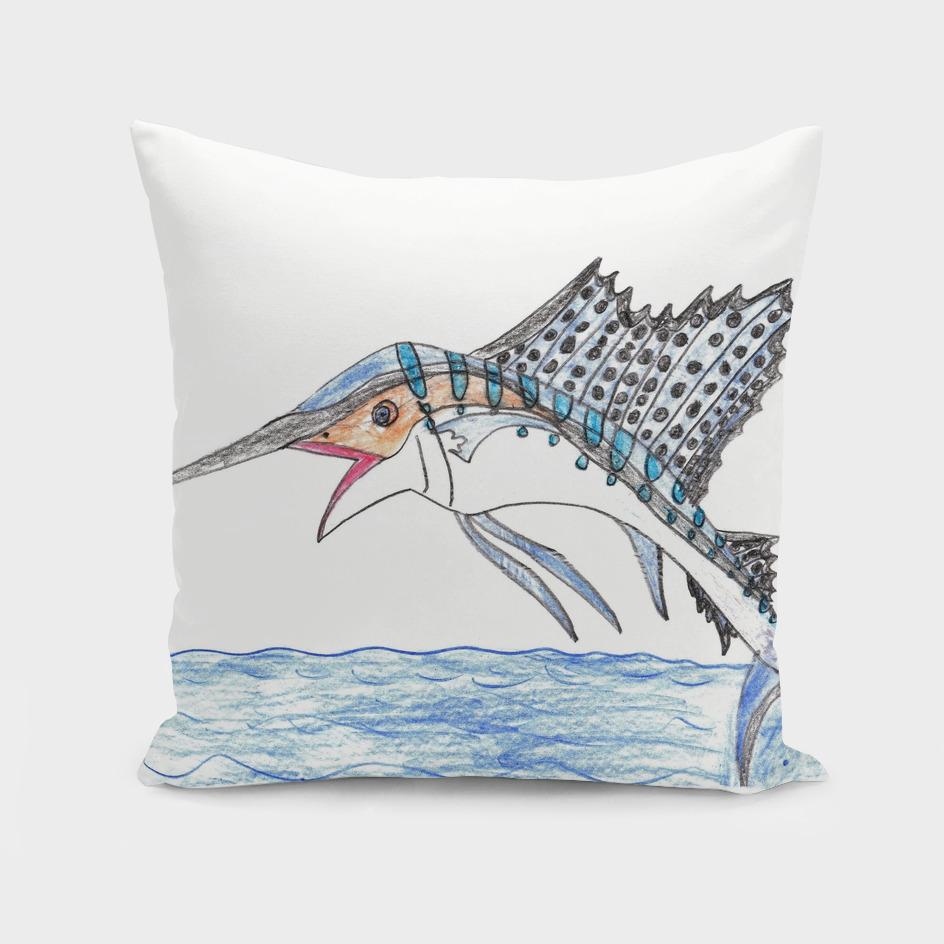Breaching Sailfish